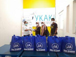 Santunan ke YKAKI Semarang